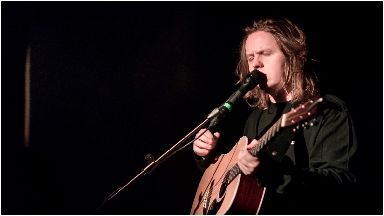 Lewis Capaldi: Fans with anxiety will be supported at the gigs (file pic).