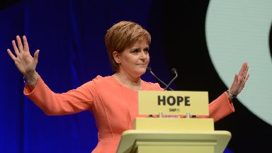 First Minister: Expected to make statement on independence.