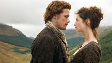 Hit show: Outlander is filmed in Scotland.