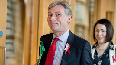 Richard Leonard: Said Labour was awakening its 'spirit of audacity' (file pic).
