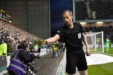 Buckfast: Bottle thrown at Celtic star.