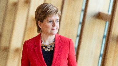Fight: The First Minister is ready for a general election.