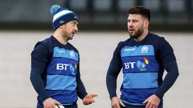 Switch: Price (right) has been handed the starting jersey ahead of Laidlaw (left)