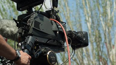 Filming: Many big budget productions have come to Scotland.