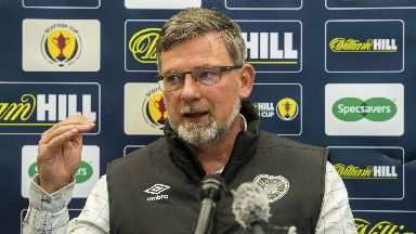 Progress: Levein called for the authorities to find another solution to football hooliganism.