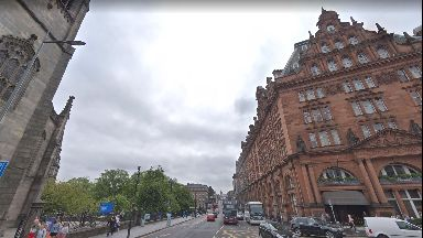 Lothian Road: Carriageway will be resurfaced (file pic).