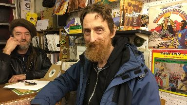 Lu Edmonds, lead guitarist of Public Image Limited.