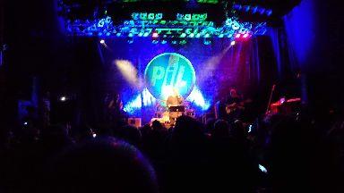 PiL's performance at the venue last June.