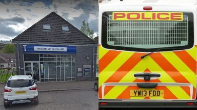 Robbery: Around £50,000 was stolen.