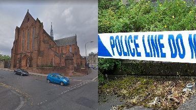 Glasgow: The man was taken to hospital.