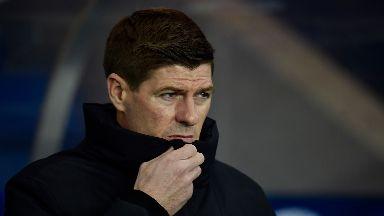 Steven Gerrard: He was targeted by fans.