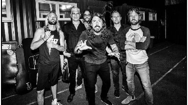Superstars: The Foo Fighters.