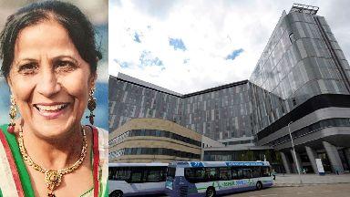 Glasgow: Mito Kaur died at the Queen Elizabeth University Hospital.