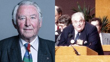 Politicians: Former Liberal leader Lord Steel and former MP Sir Cyril Smith.