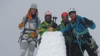 The four men were caught in the Avalanche.