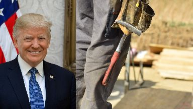 Proposals: The Trump Organisation hopes to build houses in Aberdeenshire.