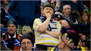 Tartan Army: Yet another embarrassing defeat.
