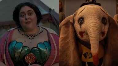 Superstar: Scots actress Sharon Rooney is starring in Dumbo.