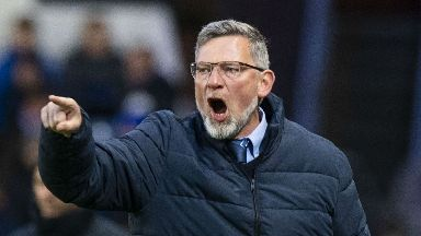 Rivalry: Craig Levein says supporters want to see a competitive edge.