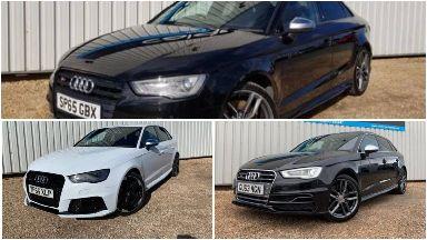 Theft: The three stolen cars.
