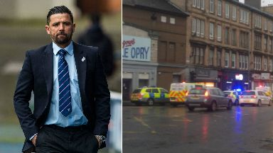 Nacho Novo: The Rangers legend said he was devastated by the attack.