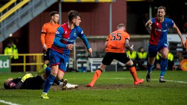 Aaron Doran scored the winner against Dundee United in the quarter-final.
