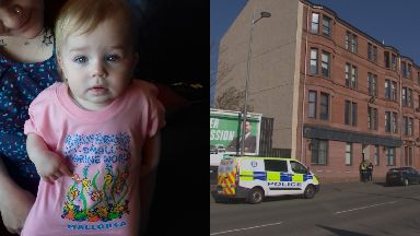 Tragic: Lexi Bergene died after falling from a third-floor window.