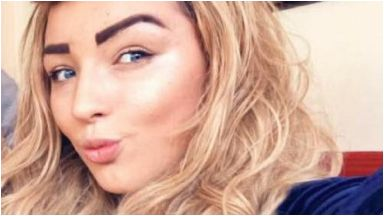 Courtney Leonard: Found dead in Glasgow flat.