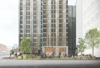 Buchanan Wharf: New design revealed.