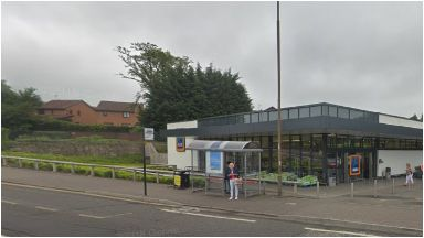 Gilmerton: Boy was stabbed outside Aldi.