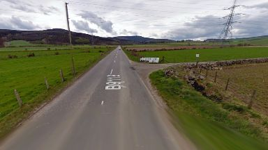 Crash: Five people injured in two-car collision.