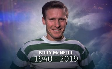 Scottish football legend, Billy McNeill.