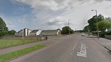 Dundee: The collision happened at the junction of Macalpine Road and St Leonard Place.
