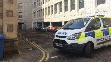 Dundee: The man's body was found in Rattray Street.
