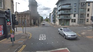 Dundee: The collision happened on Arbroath Road at Victoria Street.