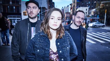 Disappointed: Chvrches spoke out against Chris Brown and Tyga.