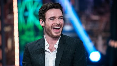 Most stylish: Bodyguard star Richard Madden.