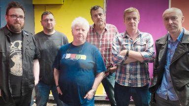 Musicians: The Fun Lovin' Crime Writers.