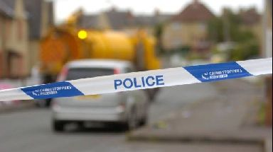 Injured: Man attacked with kitchen knife.