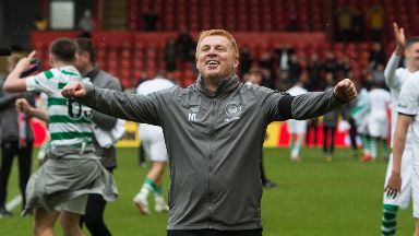 Lennon guided Celtic over the line.