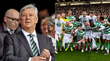 Praise: Lawwell has hailed Celtic over league win.