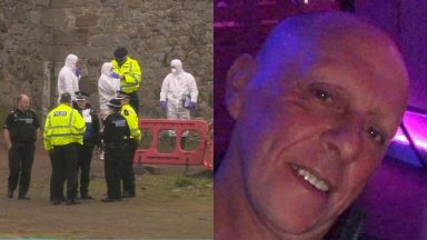 Death: Peter Walker died in wall collapse.