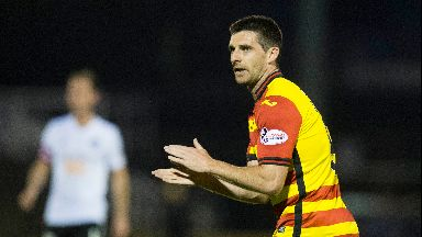 Doolan scored 120 times for Partick Thistle.
