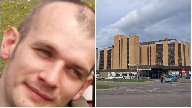 Missing: Ranald Clark was last seen at Raigmore Hospital.