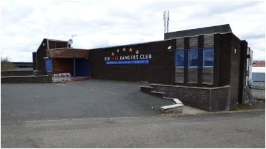 Attack: The Wee Rangers Club in Ibrox.