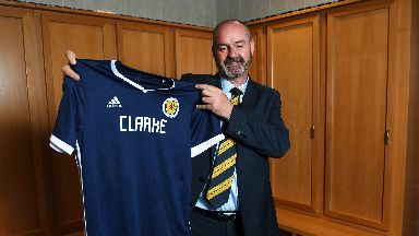 Clarke says the Scotland job is the pinnacle of his career.