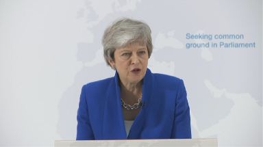 Theresa May: Speech claims there's a 'new Brexit deal'.