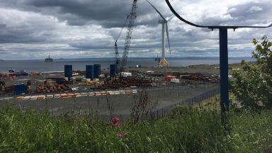 Fife: The BiFab yard is under threat.