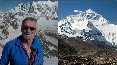 Missing: Martin Moran was climbing in the Himalayas.
