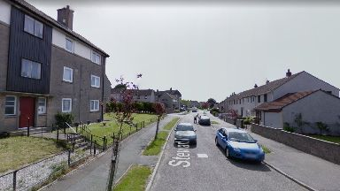 Aberdeen: Police raided a property in Stewart Terrace.